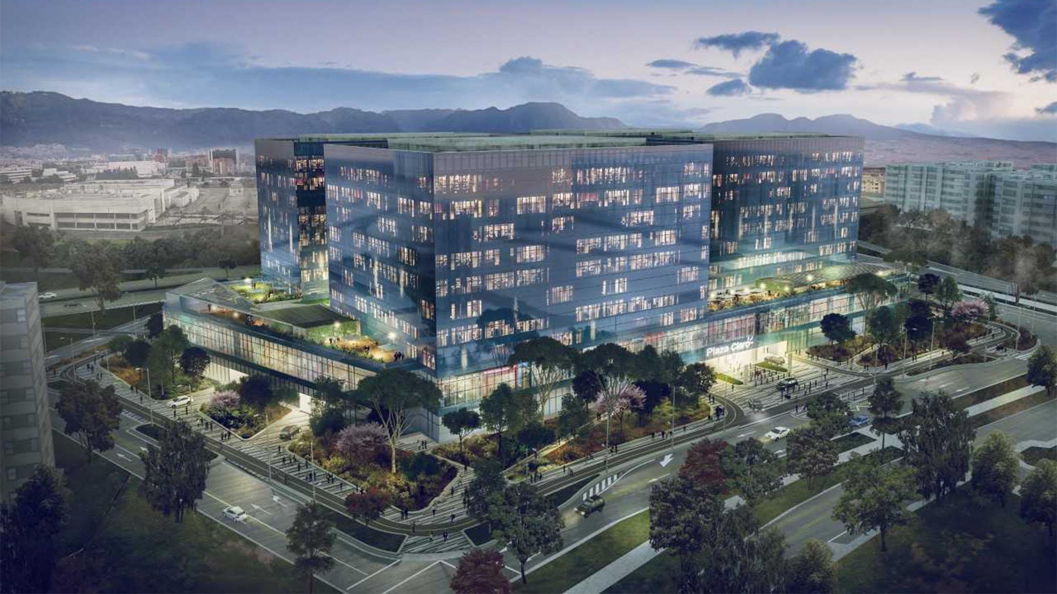 plaza claro- bogota- diseño- estructuras-nuevas-ingnieria-obra-civil-centro comercial-oficinas-telmex-2018-construcciones-